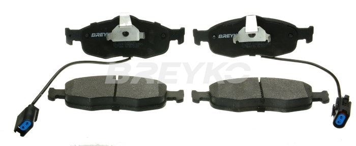 BREYKO Q1108 - Brake Pad Set, disc brake