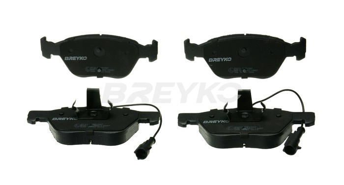 BREYKO Q1212 - Brake Pad Set, disc brake