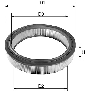 David Vasco A012 - Air Filter