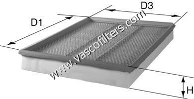 David Vasco A013 - Air Filter