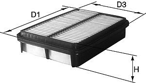David Vasco A043 - Air Filter