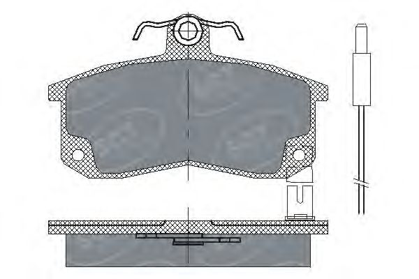 SCT Germany SP 216 PR - Brake Pad Set, disc brake