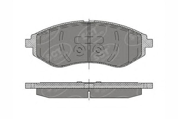 SCT Germany SP 290 PR - Brake Pad Set, disc brake