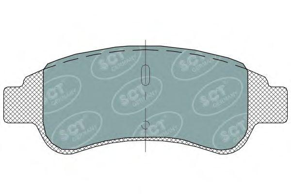 SCT Germany SP 314 PR - Bremsekloss sett