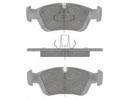 SCT Germany SP 610 PR - Brake Pad Set, disc brake