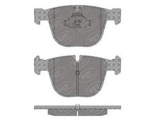 SCT Germany SP 627 PR - Brake Pad Set, disc brake
