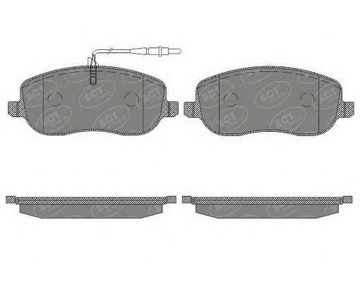 SCT Germany SP 630 PR - Brake Pad Set, disc brake