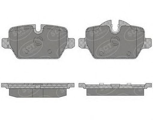 SCT Germany SP 643 PR - Brake Pad Set, disc brake